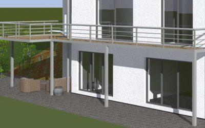 Balkon – Planung